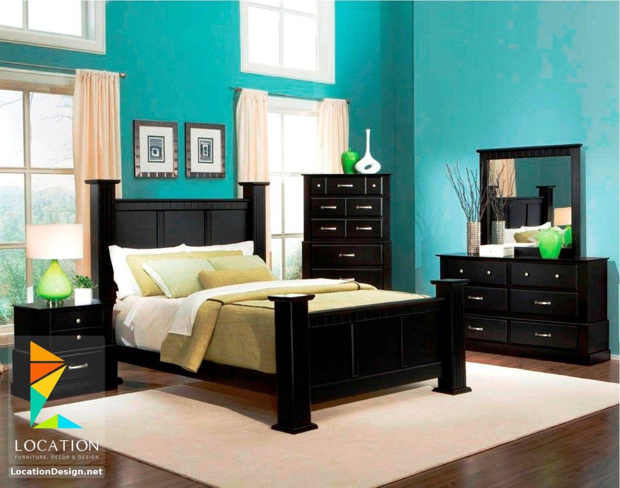 ديكورات غرف نوم صغيرة وبسيطة لوكشين ديزين نت Black Bedroom Furniture Set Bedroom Paint Colors Master Black Bedroom Furniture