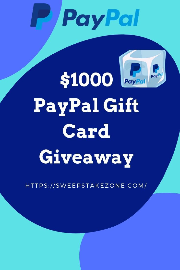 Photo of Win a $1000 PayPal Gift Card Giveaway !!!!