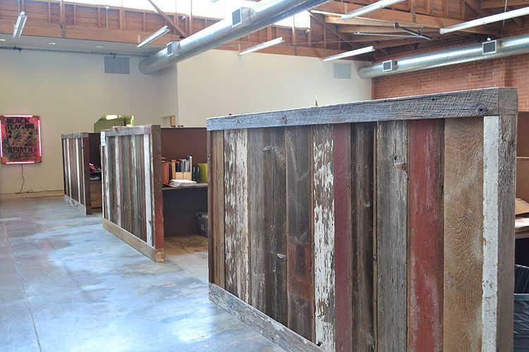 Mixed Barn Siding - Cubicles RECLAIMED WOOD LIVING ROOM Pinterest