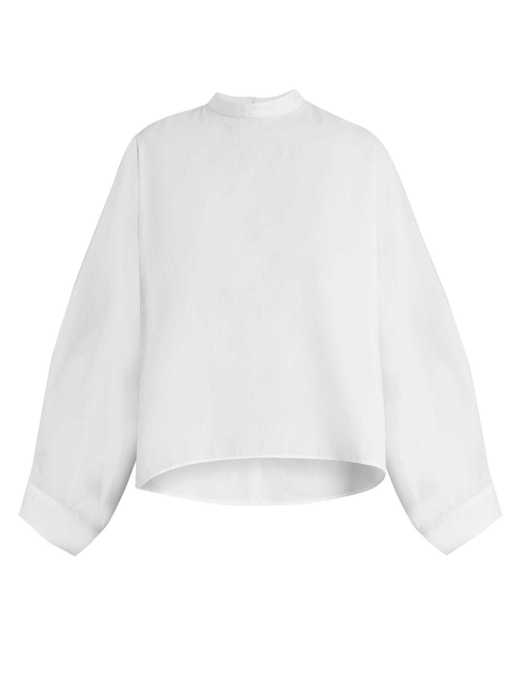 Cheap Sale Geniue Stockist Cheap Sale Shopping Online Mm6 Maison Margiela wide sleeve blouse AOekuVkJ