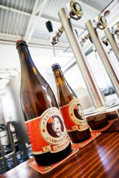 Cervezas La Virgen En Madrid Tomate Una Cana Directamente Del