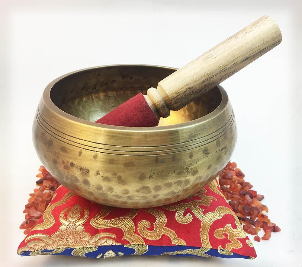 Hammered Singing Bowl Lg 10 Singing bowls, Tibetan