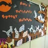 Halloween Bulletin Boards Examples #halloweenbulletinboards Halloween Bulletin Boards Examples #rabulletinboards
