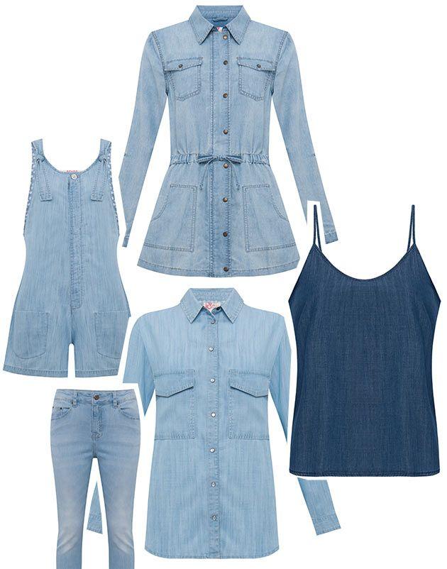 a4d590f88 E vamos aos preços da coleção da Isabela Capeto pra c&a: tem muito jeans na