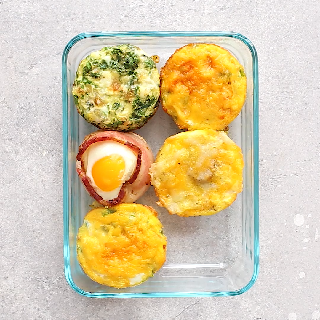 4 Healthy Egg Cup Recipes #healthyfood