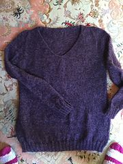 Ravelry: valbou's Purple sweater