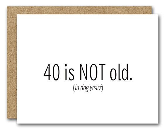 Printable 40th Birthday Card INSTANT DOWNLOAD Funny Happy Frien