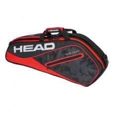 b95043ed748 Head Tour Team 3R Pro tennistas black red schuin | Tennis ...