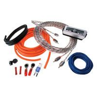 Memphis Audio 4 Gauge Amplifier Kit with RCA Cables (17-4GKIT / 4GKIT)