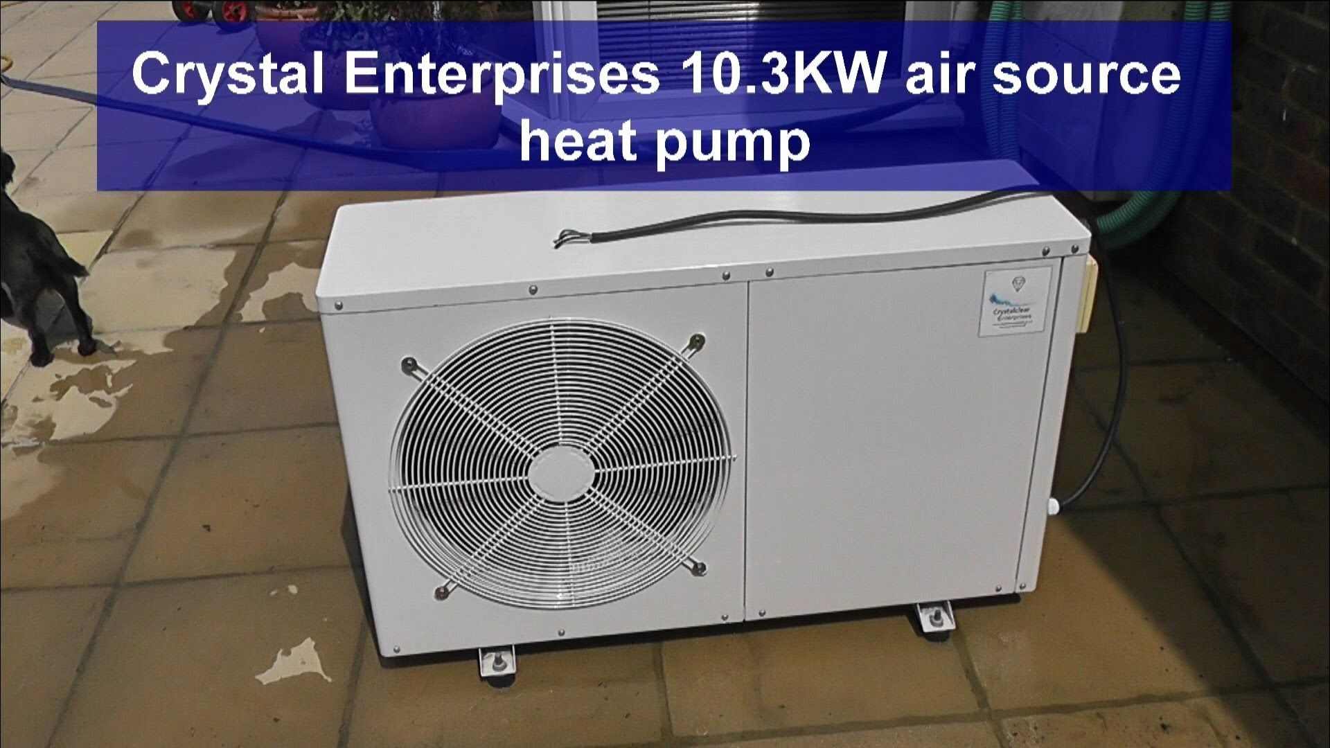 REVIEW Swimming Pool Heat Pump 10.3 KW Crystalclear