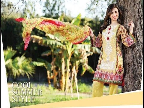45c74fffa7 Mahae Summer Embroidered Lawn Collection 2017 by Shariq Textiles ...