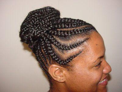 cornrow hairstyles for black women  Best Cornrow Updo Hairstyles