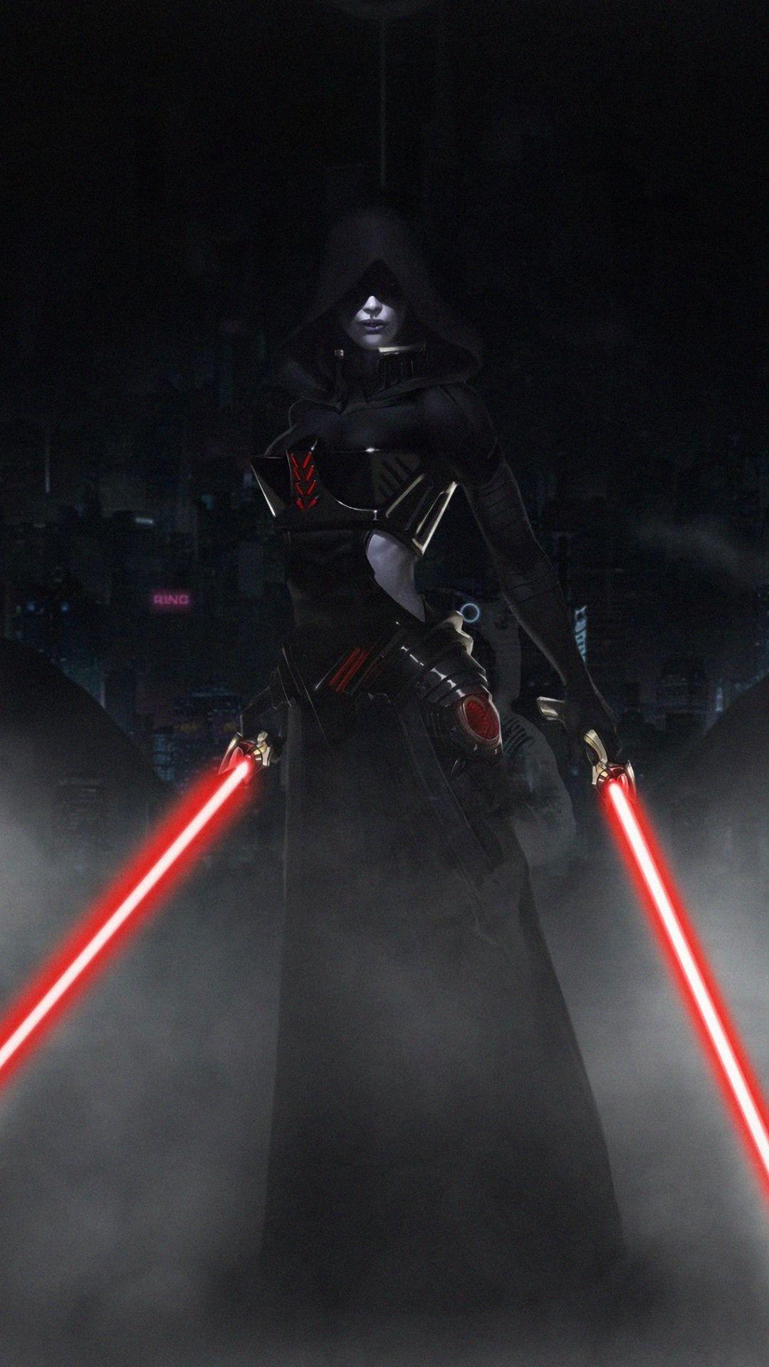 1080x1920 Girl In Hood Dark Star Wars Wallpaper Star Wars Wallpaper Star Wars Star Wars Art