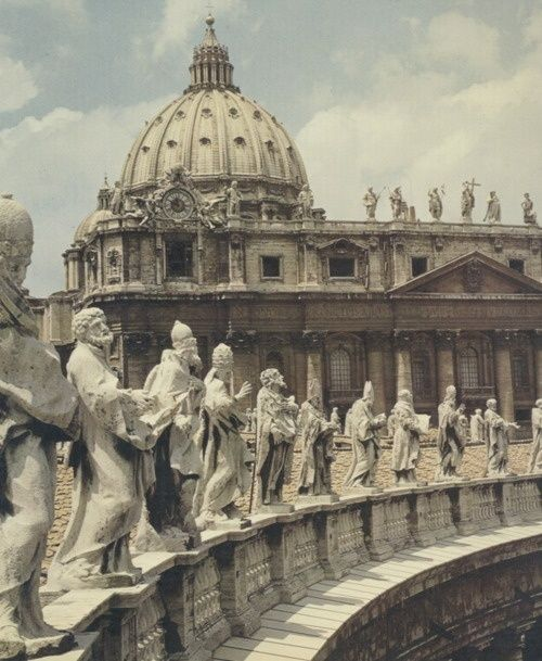 Vatican City, italy - The smallest country in the world. 0.2 miles long. I want to walk all the way through it one day.