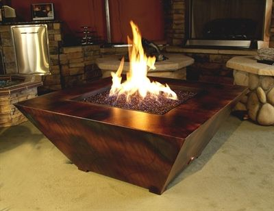 Paralax Firepit This Is Hot Fire Pit Fire Glass Fire