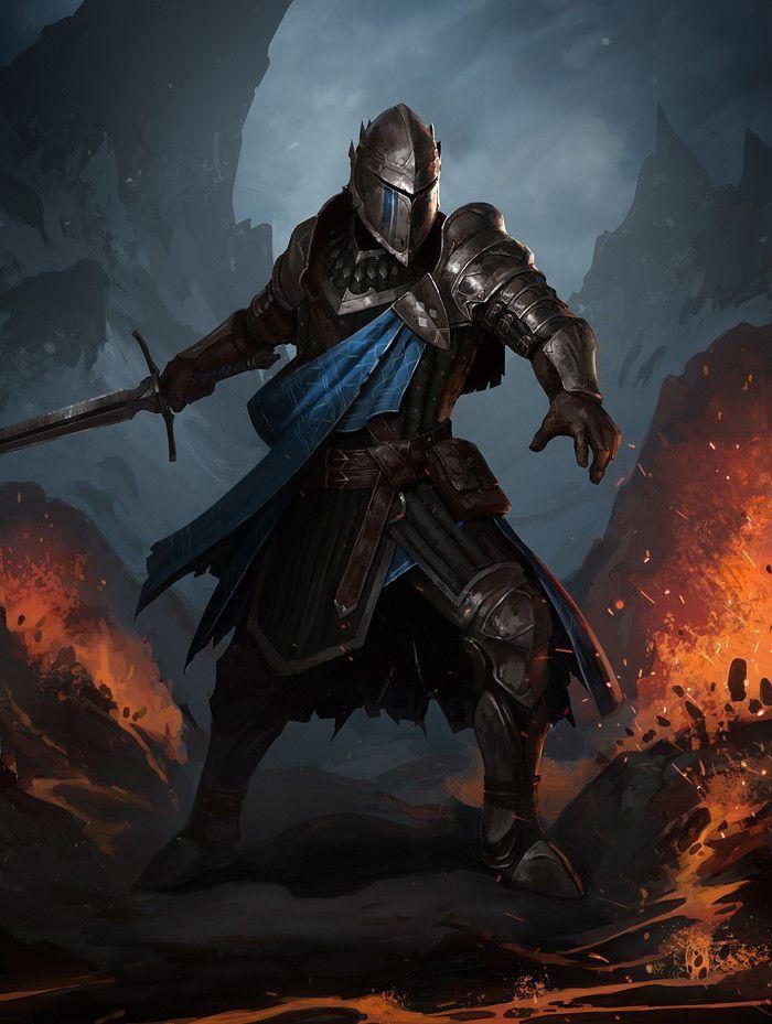 Fantasy NPC's image by DJ | Fantasy armor, Fantasy characters, Knight art