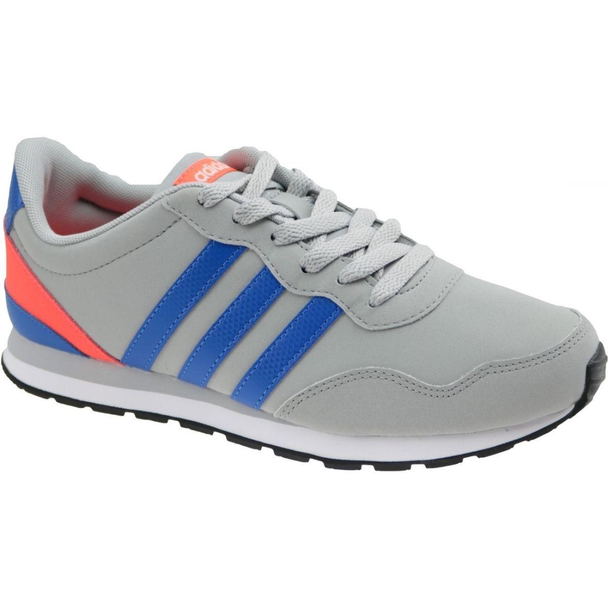 Buty Adidas V Jog K Jr Aw4147 Szare Adidas Brand Shoes Sports Shoes Adidas
