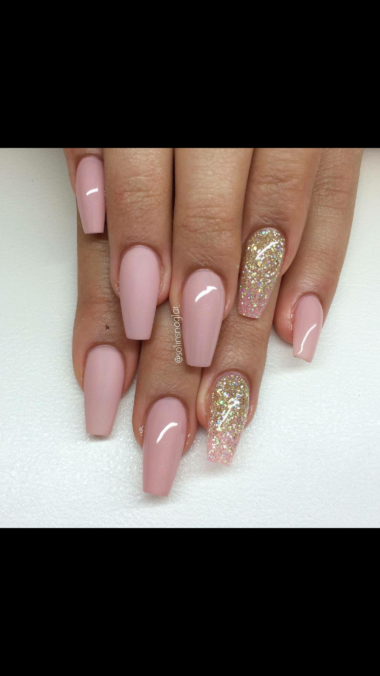 Follow For More Onlyg0ddess Pink Acrylic Nails Blush Pink Nails Light Pink Acrylic Nails