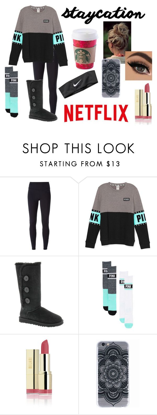 """""""Lazy day outfit"""" by teagancarter ❤ liked on Polyvore featuring NIKE and UGG Australia"""