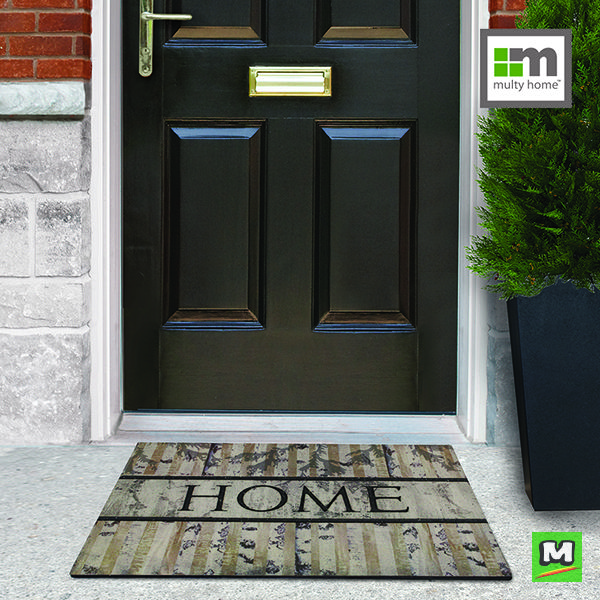 Multy Home™ recycled rubber mat is made of durable, heavy