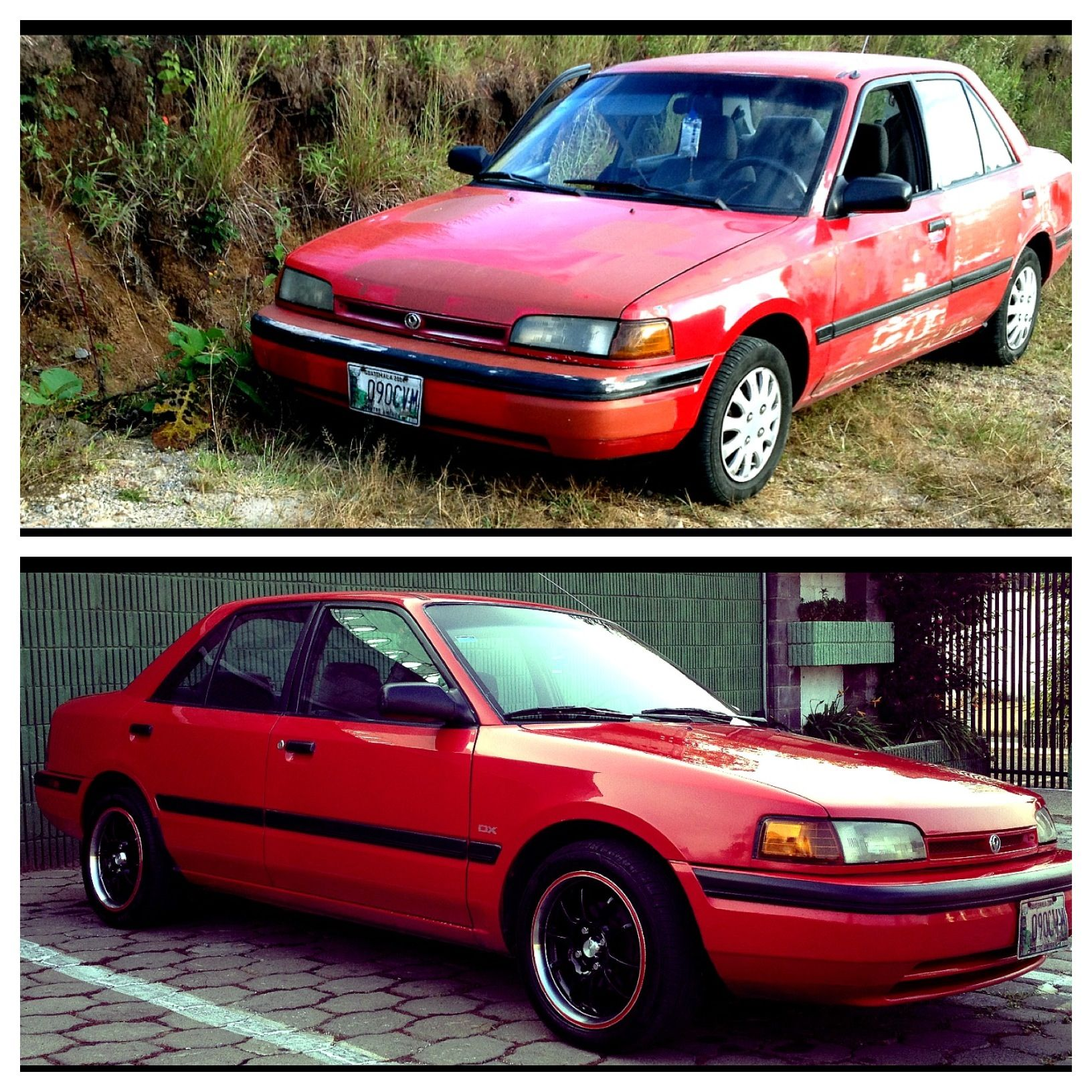 Mazda protege 1994 1800 cc