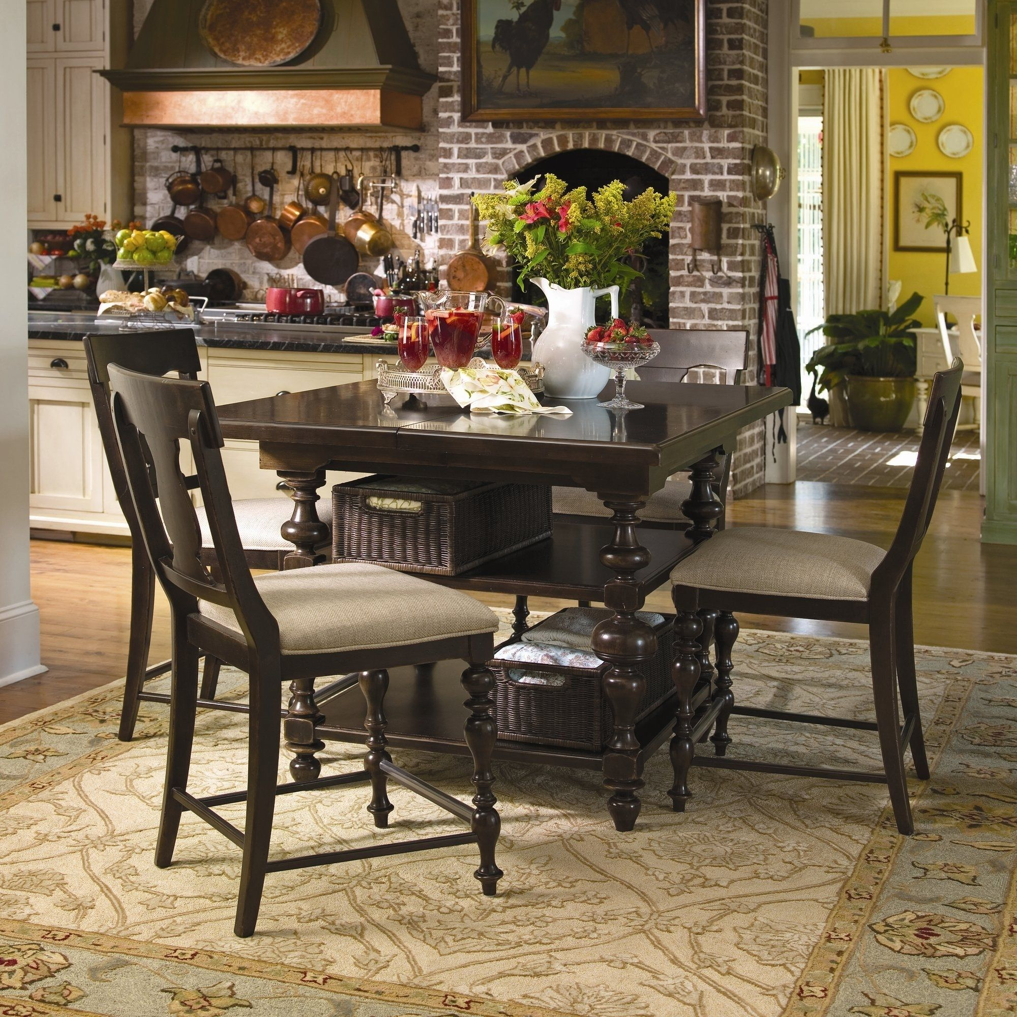 Attractive Paula Deen Square Dining Room Table