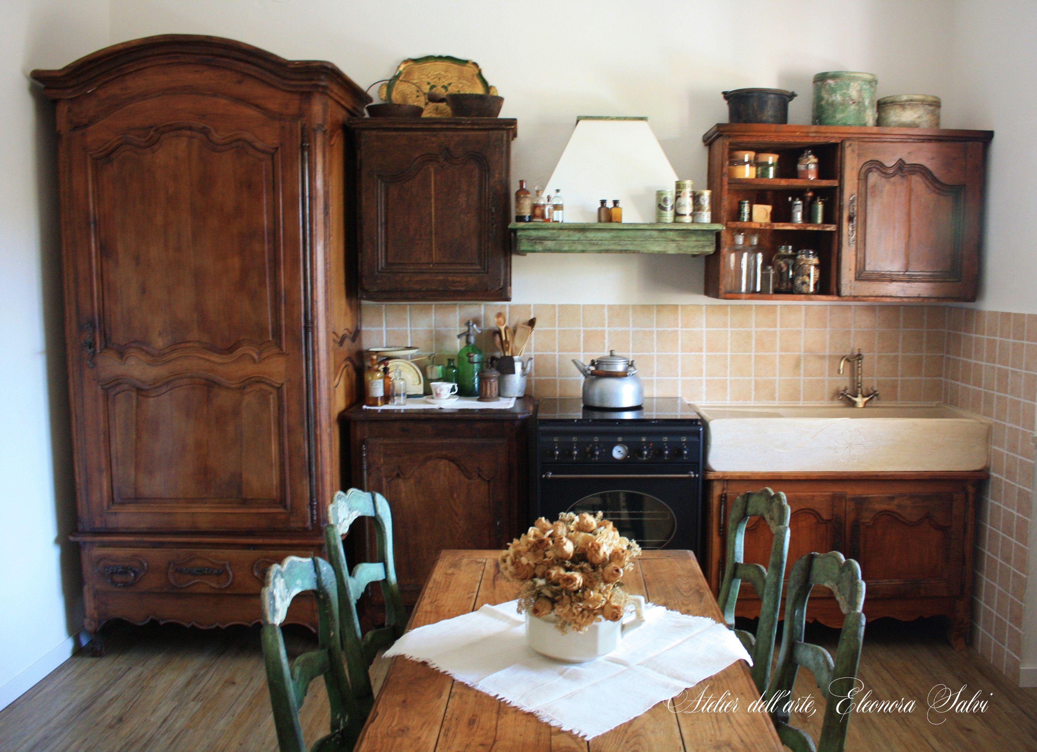 Pin di Atelier dell\'arte Eleonora Salvi su Cucina provenzale antica ...