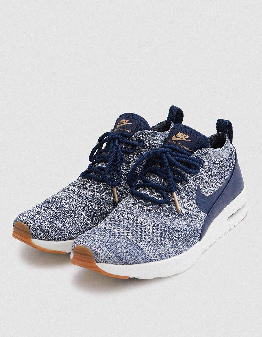 Nike Air Max Thea Ultra Flyknit in College Navy | Air max