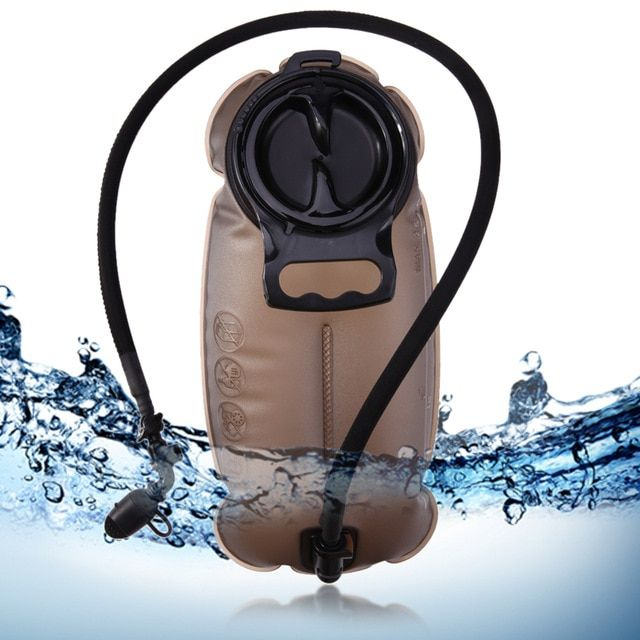 249412d16d43 1.5L 2L 2.5L TPU Hydration System Outdoor Water Bag Camping Hiking Cycling  Water Bladder