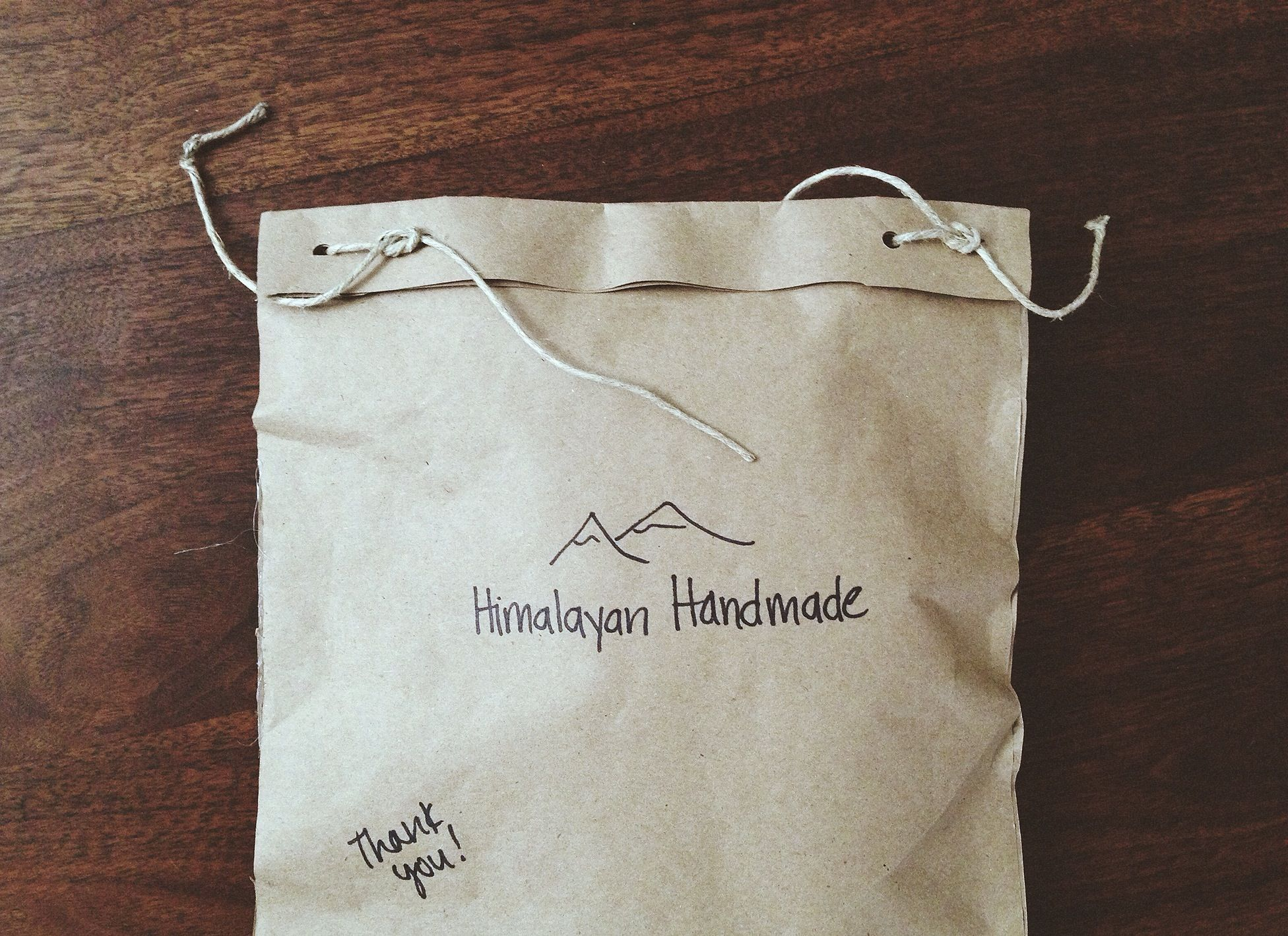 Cute product bag idea Use with handmade stamp Unique