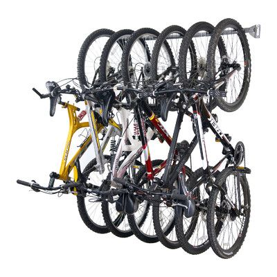 Monkey Bars Wall Mounted Bike Rack With Images Bike Storage Garage Storage Racks Bike Storage Rack