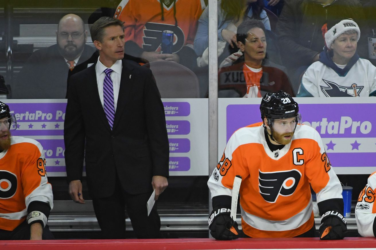 The Flyers sucked in November; was it bad luck, or