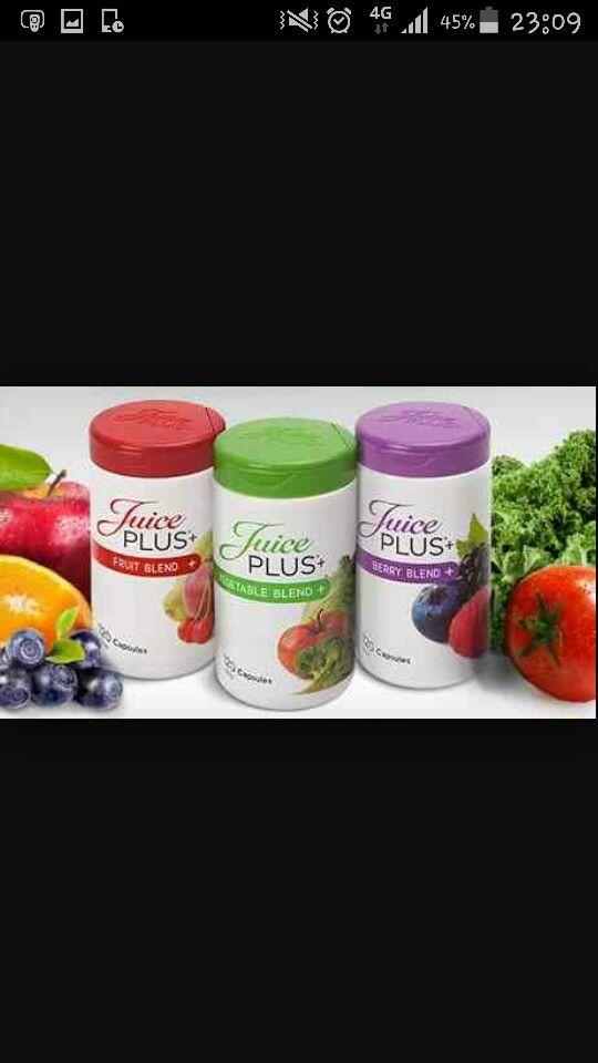 Juice Plus is a whole food supplement made up of 26 different fruit, vegetable and berry nutrients. Bridge the gap between what we eat and what we should eat!
