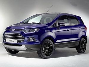 Ford To Export Ecosport To The Us Ford Ecosport Ford Bike News