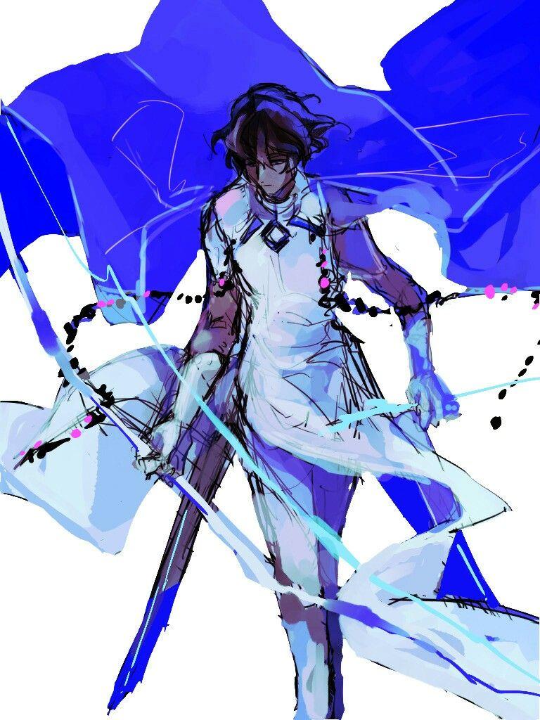 Arjuna Fate, Anime, Illustration