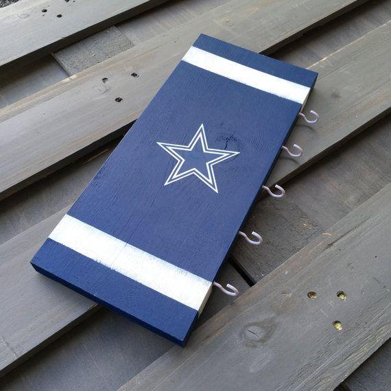 Dallas Cowboys Key Hanger Custom Cowboys Sign On Wood