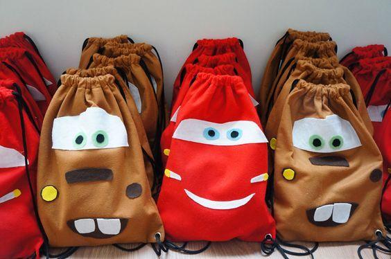 Mochila Escolar Infantil Relâmpago McQueen Carros com