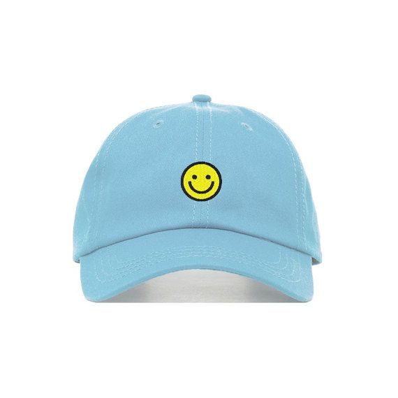 Unstructured six panel dad cap Machine Embroidered Baseball cap Croissant Adjustable Brass Buckle in back