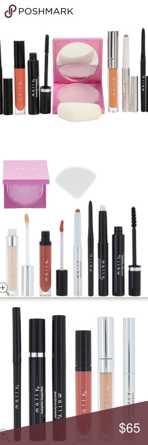 Mally Cosmetics Love at First Sight Boxed Set NWT Mally
