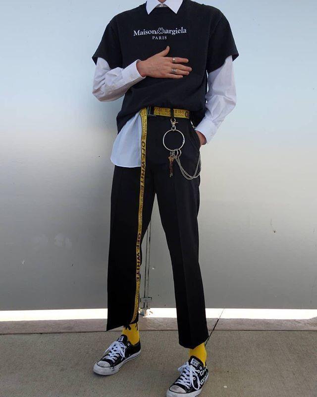 Idées faciles: Ville Mettez le type de matériau ville Jordan Footwear ville. Ville Vogue Photoshoot Outfit ville pantalon. Type de tissu .. #mensfashion
