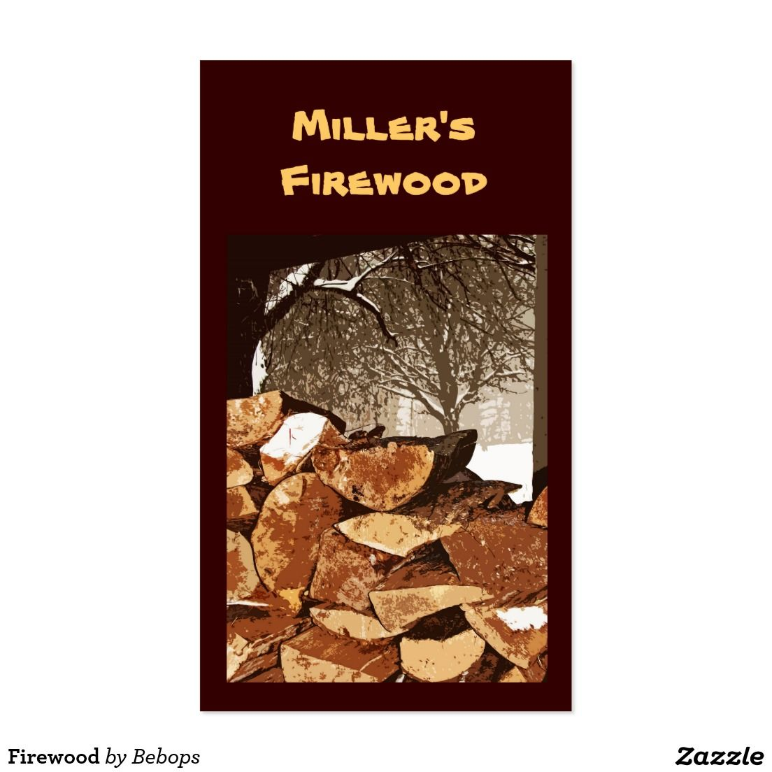 Firewood Business Card | All Shop Sales | Pinterest | Shop sale