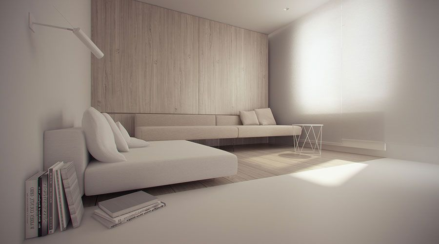 arredamento minimal design 12 | arredamento minimalista | pinterest - Arredamento Minimalista