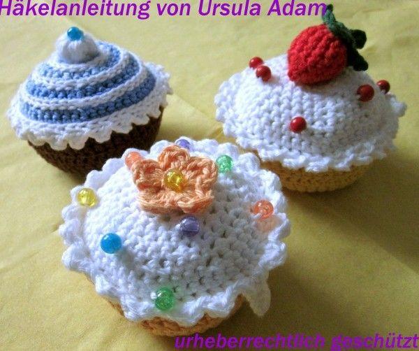 Häkelanleitung Muffin Cupcake Häkeln Bebilderte Anleitung Für Ein