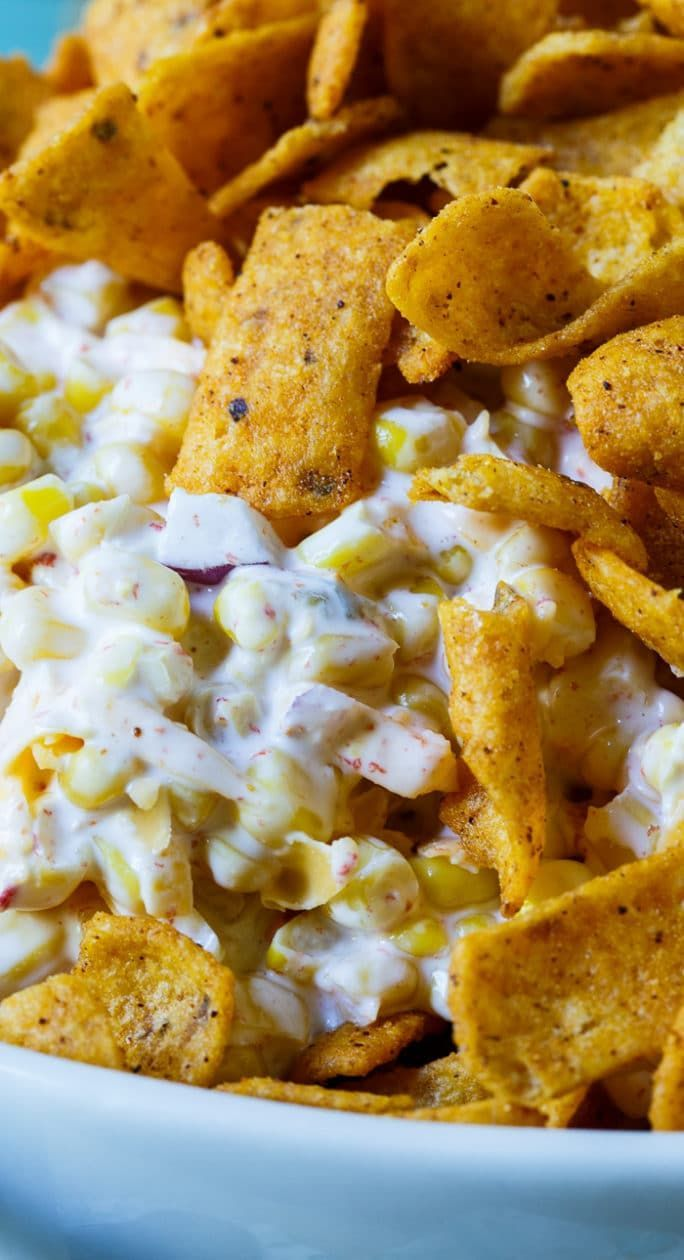 Frito Corn Salad #easypotluckrecipes