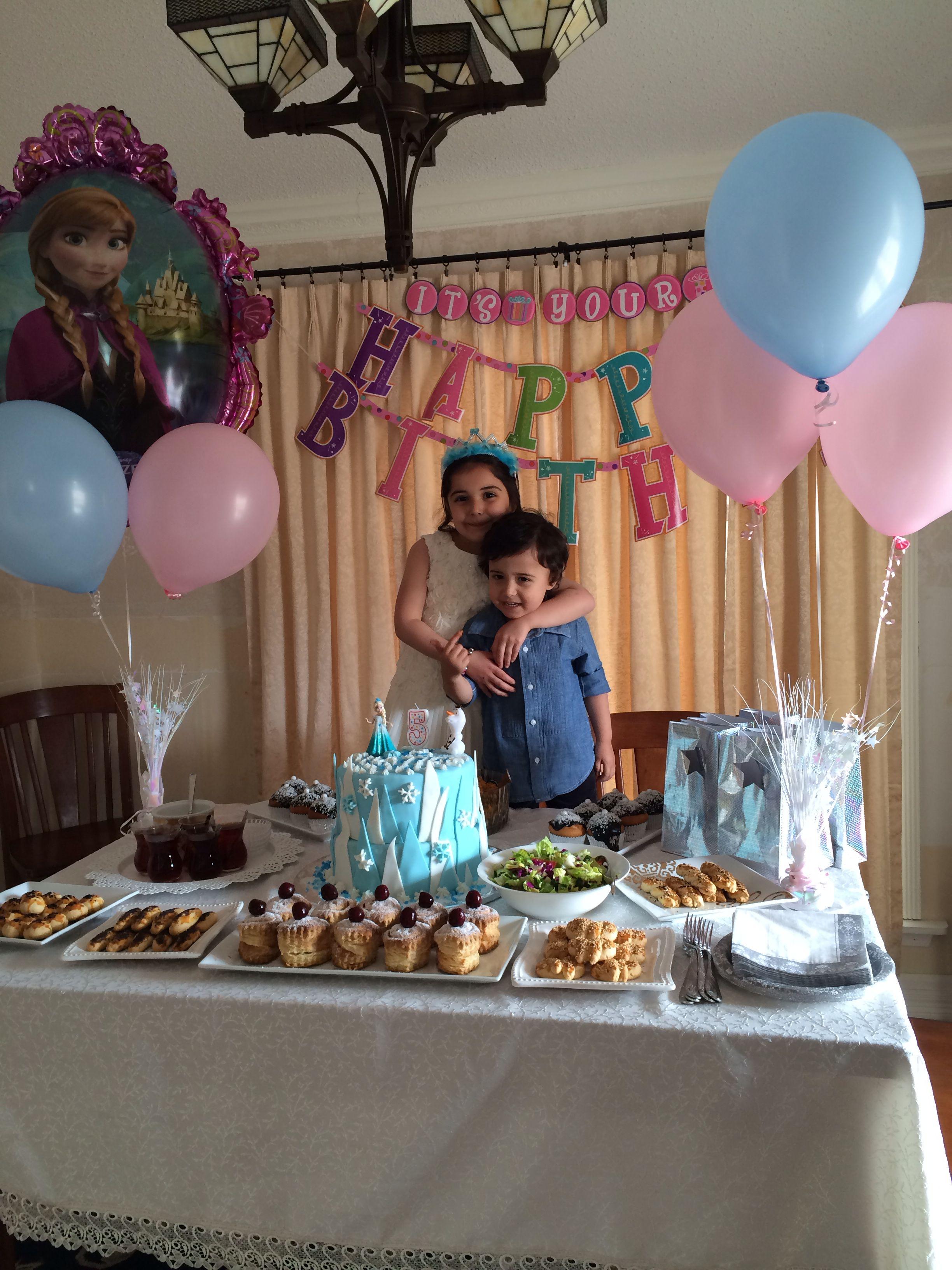 Frozen birthday cake idea,frozen birthday