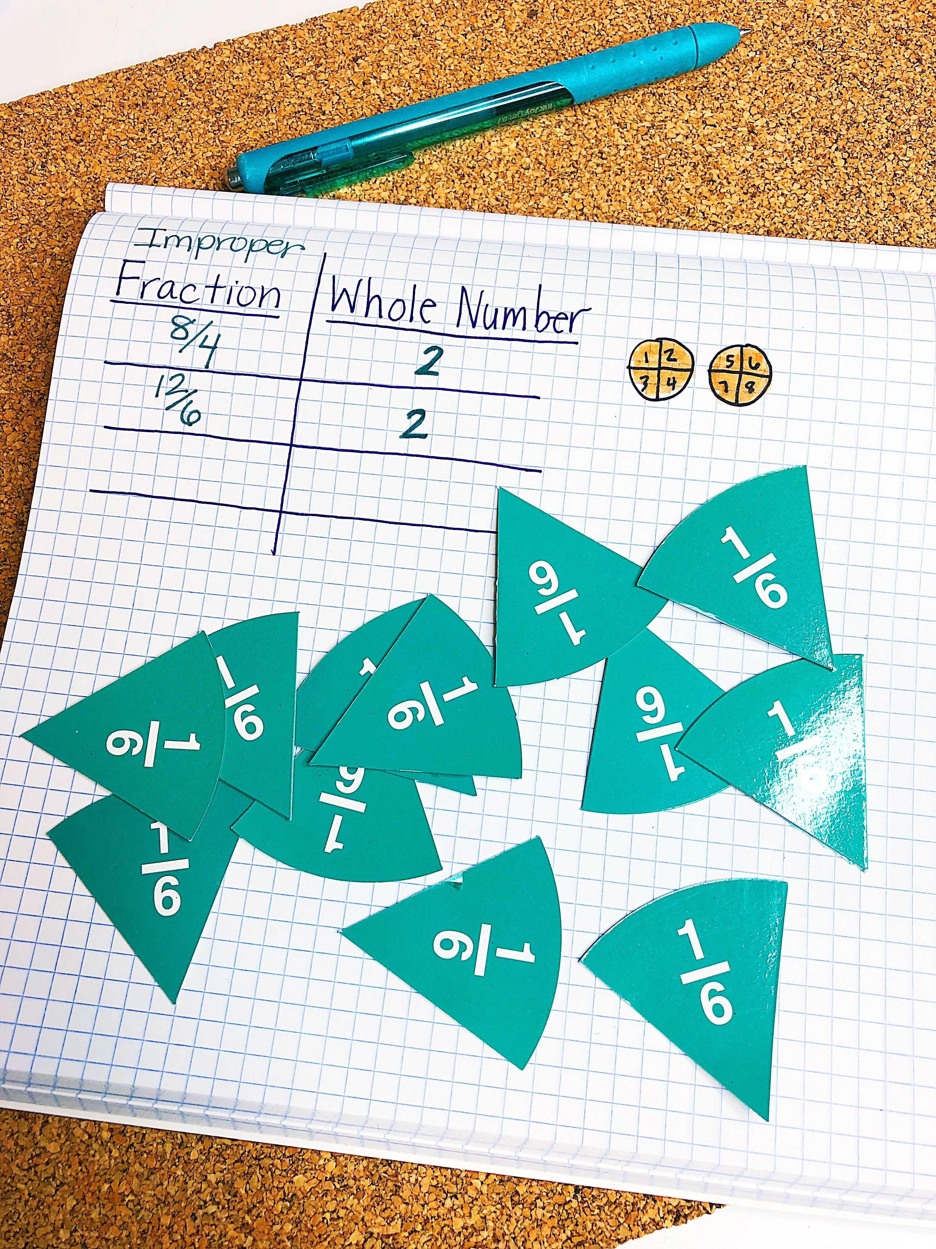 Free Fractions Printable Activity Guided Math Activities