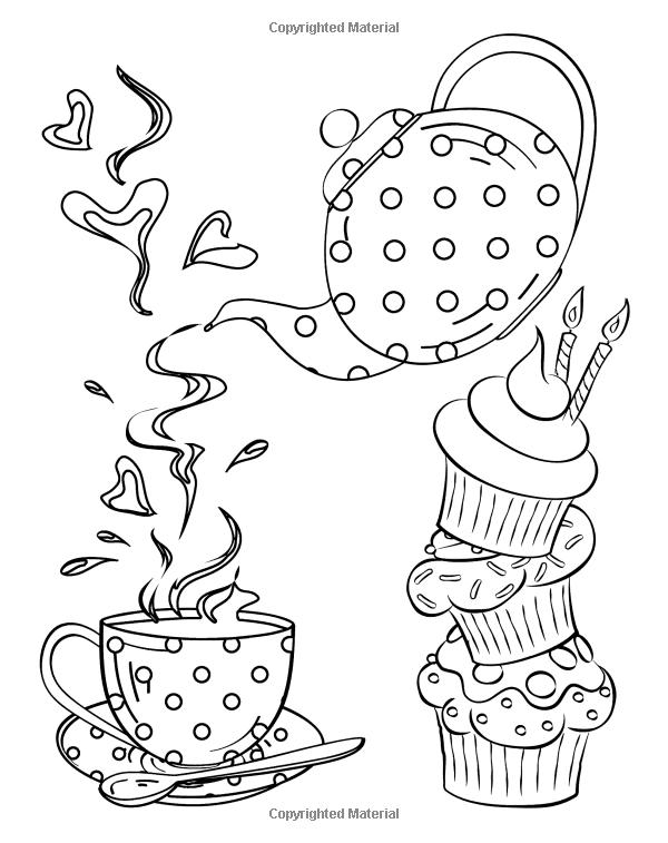 Gemütlich Tee Tasse Malseite Ideen - Framing Malvorlagen ...