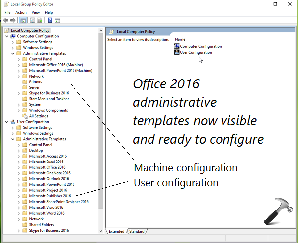 Guide Install Office  Group Policy Templates In Windows