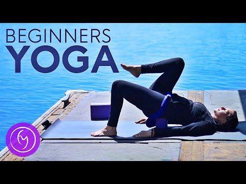 20 minute beginners yoga class easy  fightmaster yoga