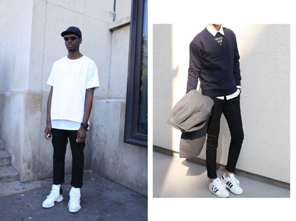 White sneakers from vans⋆ Men's Fashion Blog TheUnstitchd